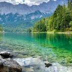 Trailrunning um den wunderschönen Eibsee 🏝😃🏃🏻♂️